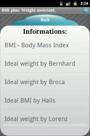 BMI plus. Weight assistant