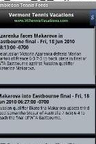 Wimbledon Tennis Feeds