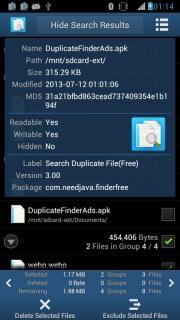 Search Duplicate File
