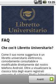 Libretto Universitario