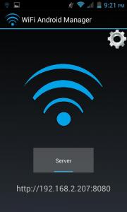 WiFi Android Manager