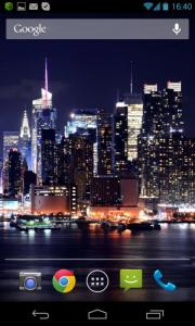New York HD Scrolling Live Wallpaper