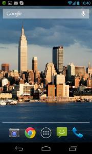New York HD Scrolling Live Wallpaper
