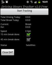 Driving Hours Tracker