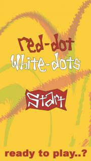 Red Dot - White Dots