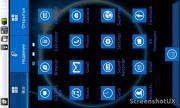 WP7-blue Go Launcher EX Theme