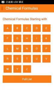 Chemical Formulas Offline