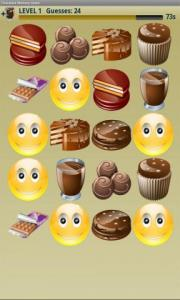 Chocolate Memory Game