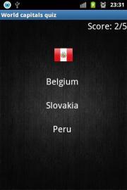 World capitals quiz