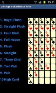 PokerHands Free
