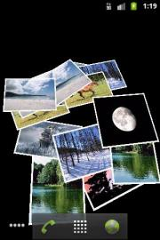 Falling Images Live Wallpaper