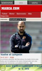 AG Spanish Newspapers FREE