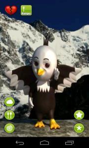 Talking Baby Eagle