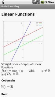 Math Formulary