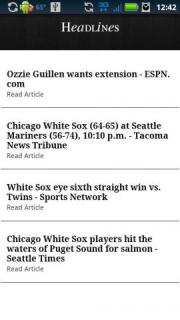 Chicago WS Baseball News