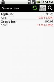Stock Observer