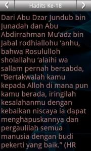 Arba'in Nawawiyah (Malay)