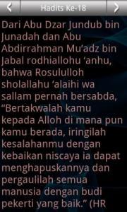 Arba'in Nawawiyah (Malay)