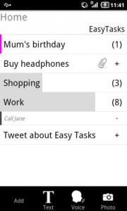 Easy Tasks