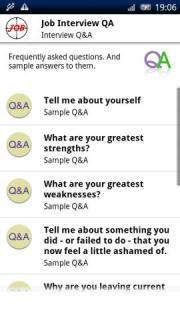 Job Interview QA