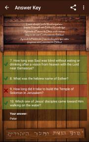 Biblical Quiz