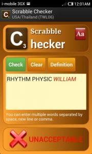 Scrabble Checker