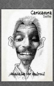 Caricatura selfie