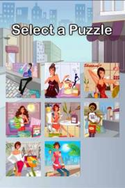 Shopping Girl Puzzle