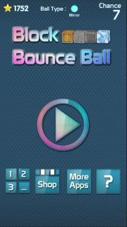 Block Bounce Ball
