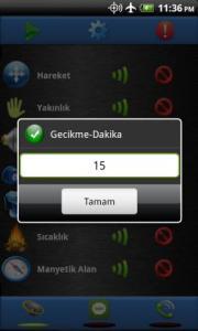 Sensor Alarm Free