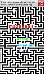 MazeBallFree