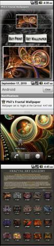 Phil's Fractal Wallpaper Lite