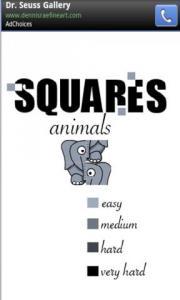 Squares - Animals