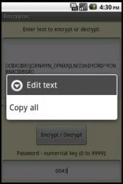 Encryptor