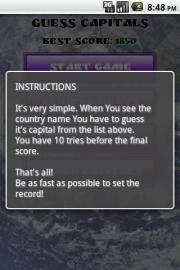 Guess Capitals