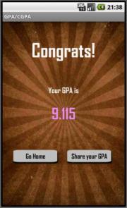 GPA/CGPA