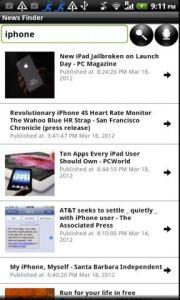 News Finder