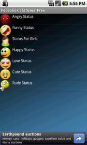 Facebook Statuses Free
