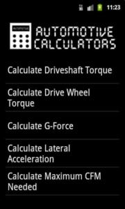 Automotive Calculators