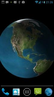 Earth 3d Wallpaper