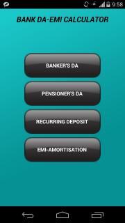Bank DA-EMI Calculator