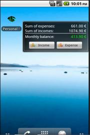 Personal Financial Organizer