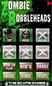 Zombie Bobble Heads