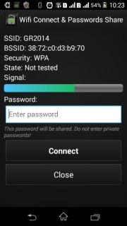 Wifi Connect & Passwords Share