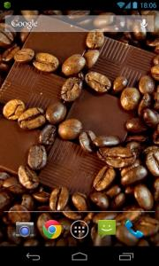 Coffee HD Scrolling Live Wallpaper