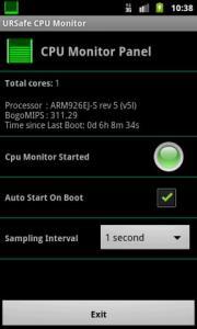 URSafe CPU Monitor