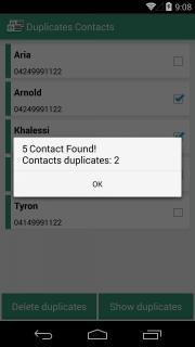 Duplicates Contacts