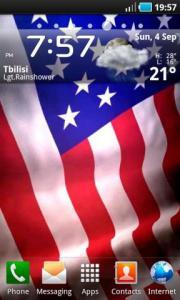 Animated American Flag