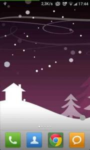 Abstract Winter Snowfall LWP