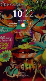 KitKat Music Lockscreen